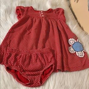 Carters Dress and Bloomers